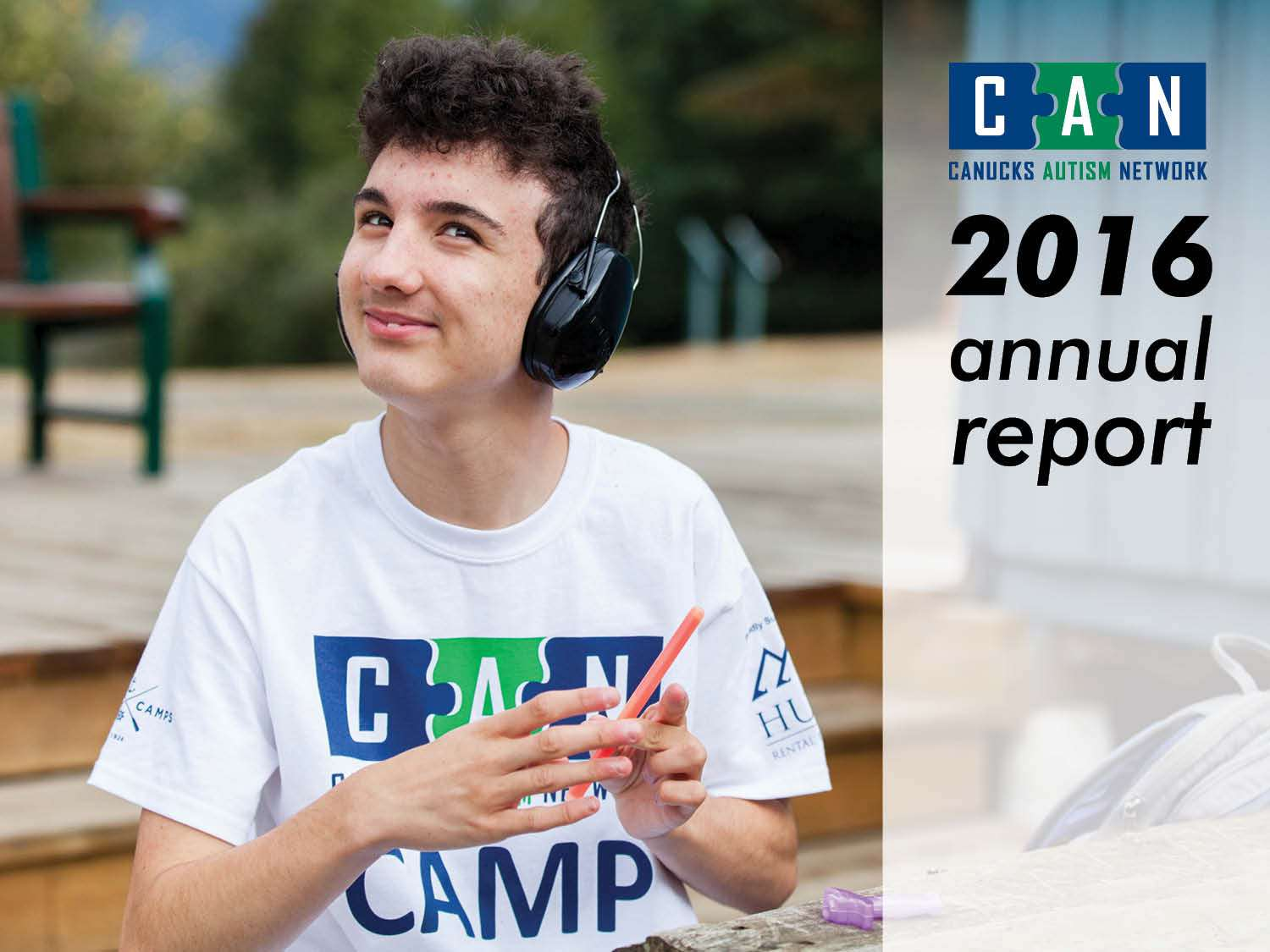 Canucks Autism Network - Annual Report - 2016